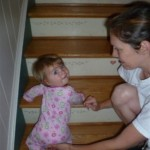 watch out- i can climb stairs
